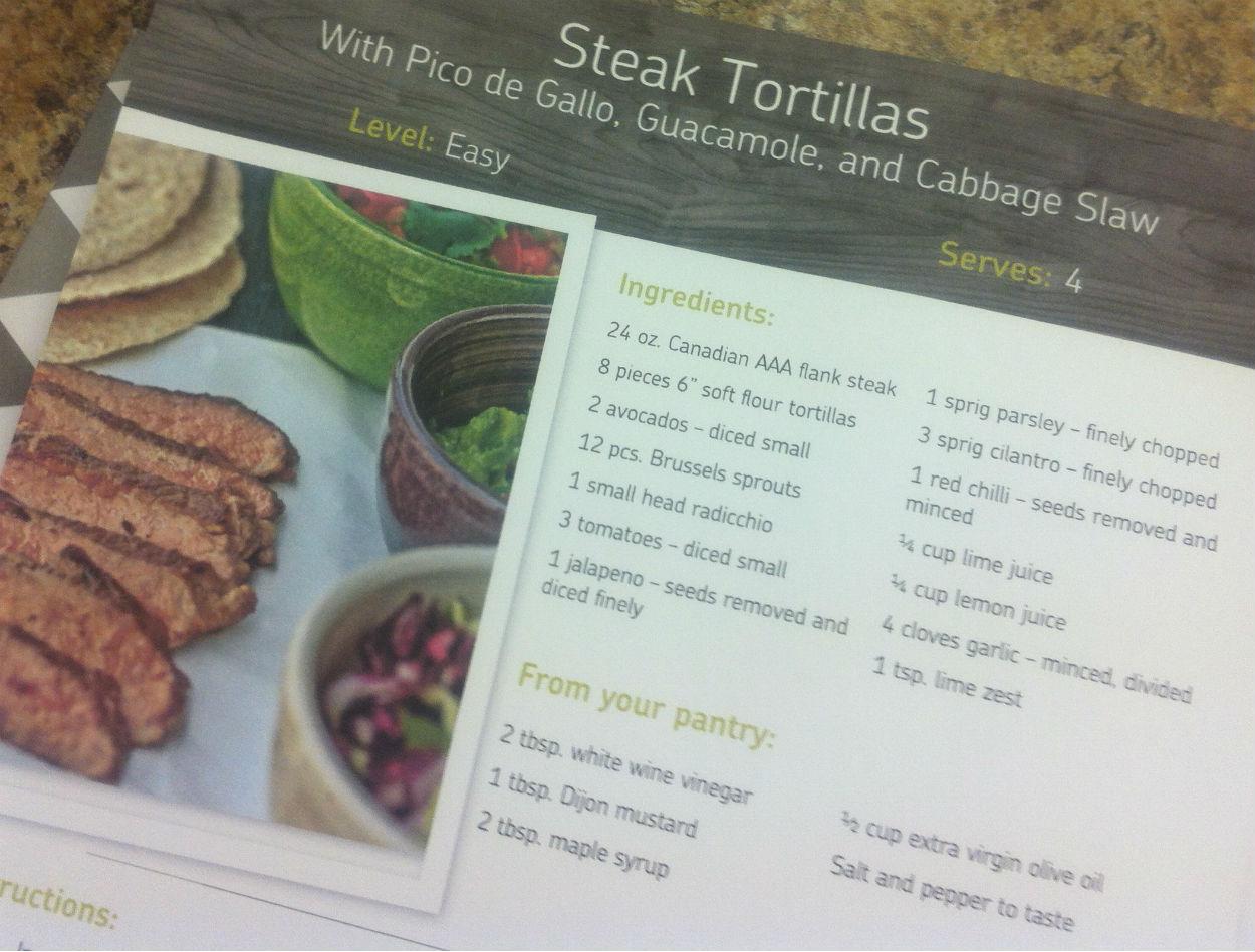 steak tortillas