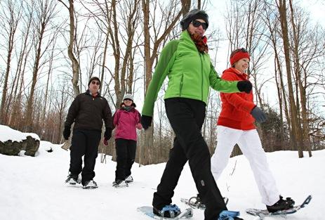 Crawford Lake Snowshoeing